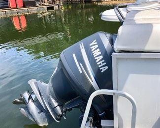 2007 Crest Caribbean Pontoon Boat. Outboard Yamaha F150TXR 4- Stroke Series.