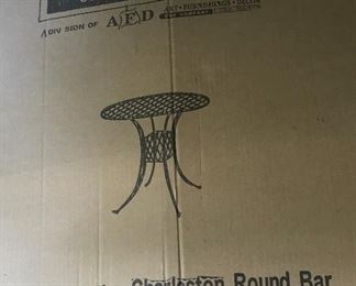 Outdoor table (New in box, unassembled)