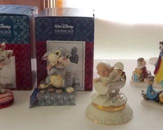 Disney Aristocats and Bambi's Thumper and Snow White & The Seven Dwarfs