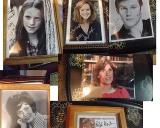 Lots of Autographed WALTONS TV Show Photos and the SCRIPTS!!!