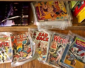 Lots of Comics - Weird and More!