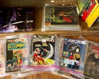 Lots of Comics - Weird, Creepy and More!