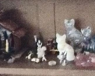 More Cats and Nativity Set