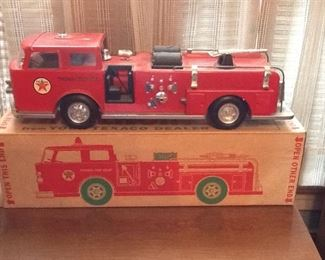 Cool Texaco Fire Engine Truck with Box