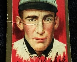 Antique Hassan Tobacco Baseball Trading Card- Lewis Richie (Chicago Nationals)