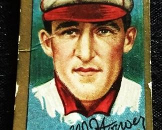 Antique Hassan Tobacco Baseball Trading Card- Arnold Hauser (St. Louis Nationals)