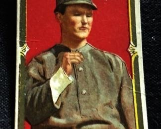 Antique Hassan Tobacco Baseball Trading Card- Lewis McAllister (Buffalo Bisons)