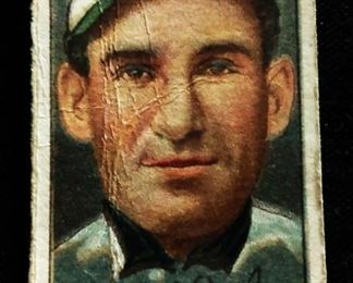 Antique Hassan Tobacco Baseball Trading Card- Michael Doolin (Philadelphia Nationals)