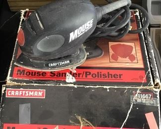 Craftsman Mouse Sander/Polisher in original box