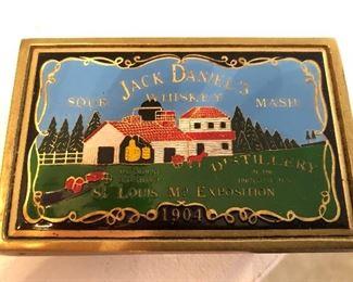 Vintage Jack Daniels Belt Buckle. Solid Brass 507