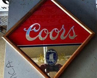 Coors Advertising Mirror