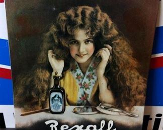 Rexall Tonic Tin Sign