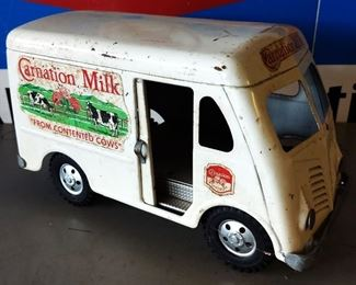1955 Tonka Carnation Milk Metal Toy Truck