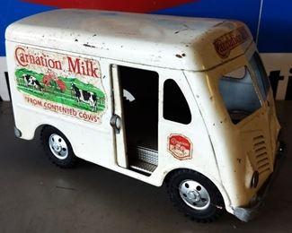 1955 Tonka Carnation Milk Metal Toy Truck