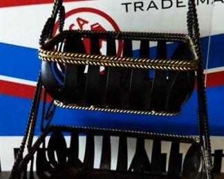2-Tier Metal Basket