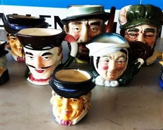 Vintage Face Mugs (Japan)