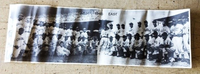 1946 Negro Baseball All-Star Game Photograph
