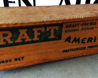 Vintage Kraft Cheese Box