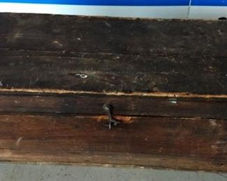 Vintage Cobbler's Box with Tools