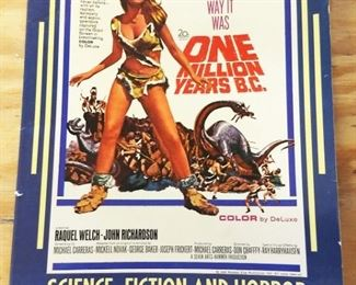Vintage Science Fiction/Horror Movie Poster Book