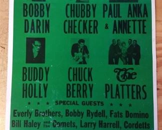 Retro Rock and Roll Concert Poster