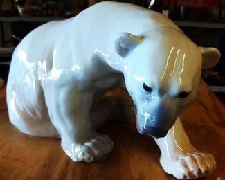 Vintage B&G Copenhagen Porcelain Polar Bear