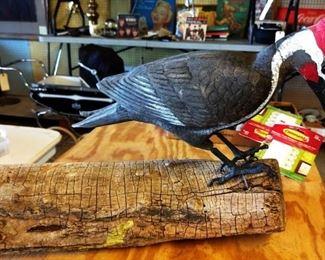 Wood Bird Display