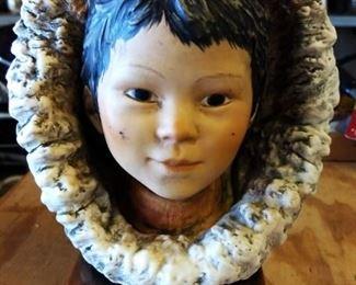 Eskimo Child Figure