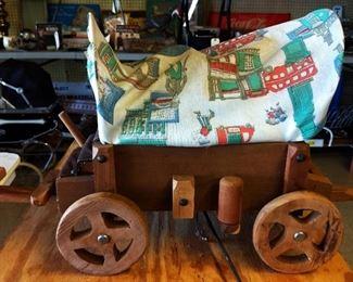 Vintage Chuck Wagon Lamp