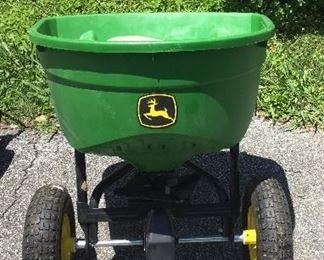 John Deere lawn wheelbarrow