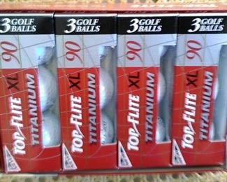 Top/Flite XL Golf Balls in Original Box Never Used Great Prices