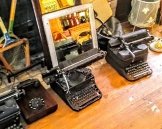 I have these typewriters. Buy them ALL.