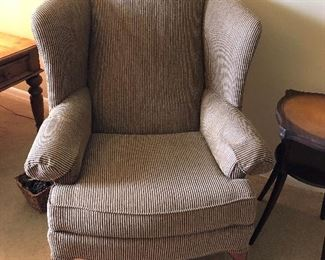 Ethan Allen large wingback chair