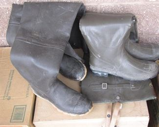 2 Pairs of Hip Waders