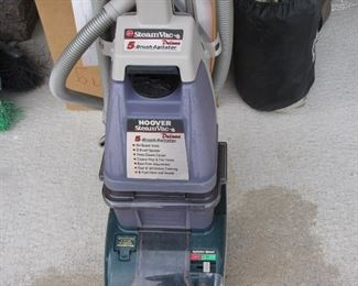 Steam Clean the Carpet - by Hoover