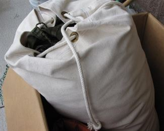 Sleeping bag with Canvas Carrying case