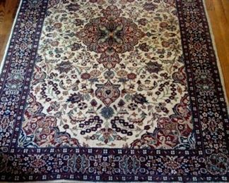 Persian, hand knotted, wool oriental rug.