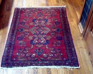 Semi antique Persian oriental rug.