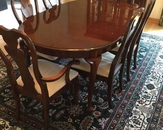 Thomasville Cherry Table and Chairs