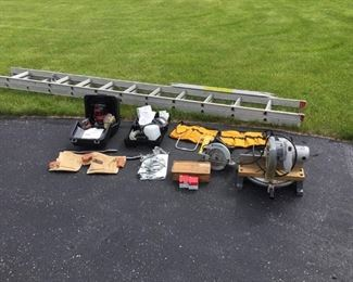 Tool and Ladder Lot