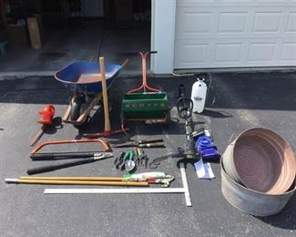 Weed Wacker and Garden Lot