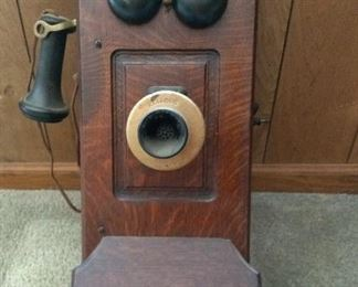 antique Kellog phone