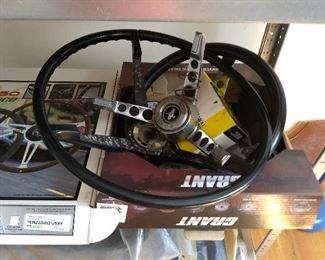 Mustang steering wheel & more
