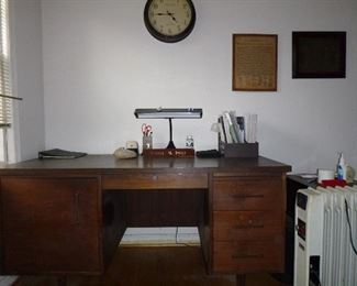 office desk which belonged to his wife, from her office @ Coca Cola