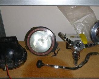 more car stuff, pair of HID headlamps