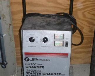 Battery Charger/Starter/Tester