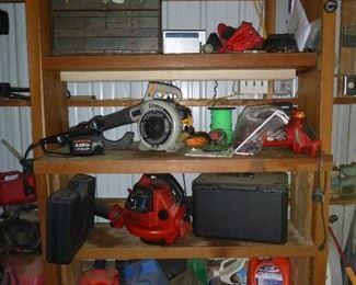 loads of yard tools
