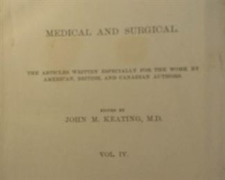leather bound book, circa 1891