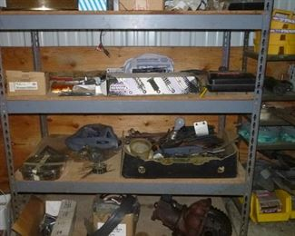 more car parts & some Harley shocks & parts