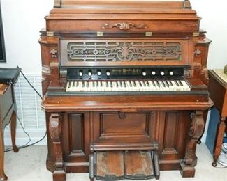 6. Victorian Organ by George Woods and Co, Boston
